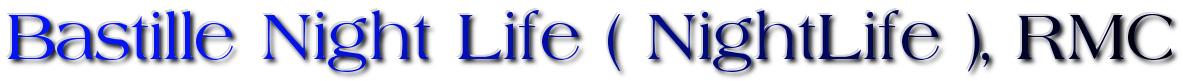 The Bastille NightLife Logo